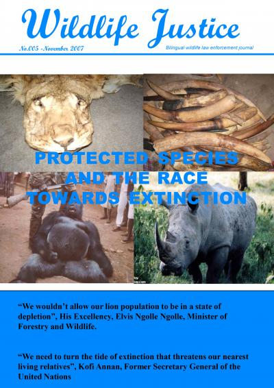 Edition 5 - Protected Species and the Race towards Extinction