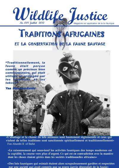 8 - Traditions africaines et la conservation de la faune sauvage