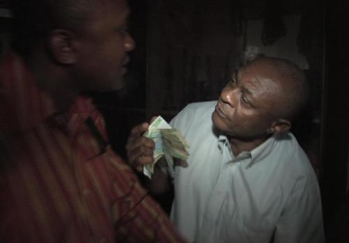 Fight against corruption - an ivory dealer arrested