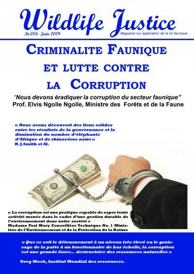 6 - Criminalite faunique et lutte contre la corruption