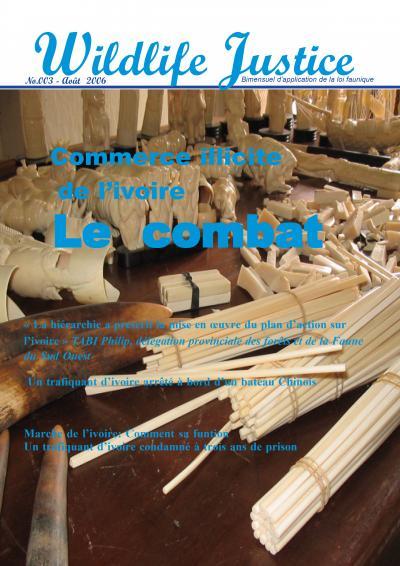 3 - Commerce illicite de l'ivoire. Le combat