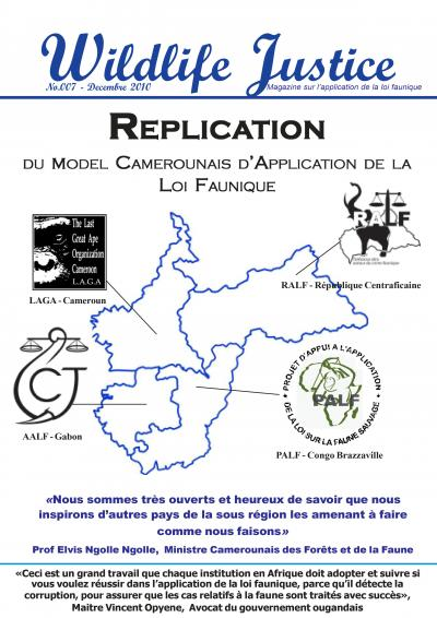 7 - Replication du model camerounais d'application de la loi faunique